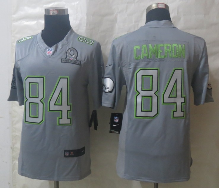 Nike Browns 84 Cameron Grey 2014 Pro Bowl Jerseys
