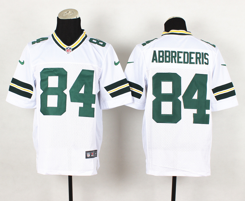 Nike Packers 84 Abbrederis White Elite Jersey