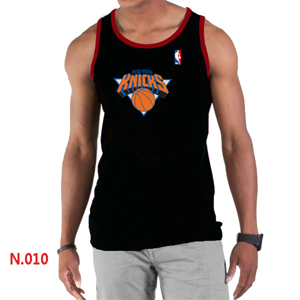 New York Knicks Big & Tall Primary Logo Men Black Tank Top