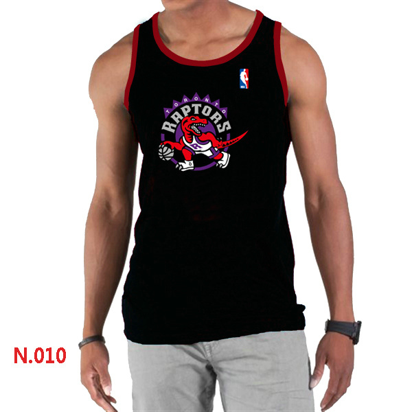 Toronto Raptors Big & Tall Primary Logo Men Black Tank Top