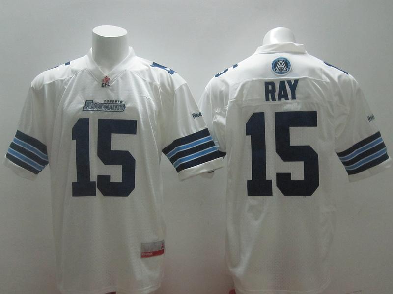 Reebok CFL Toronto Argonauts 15 Ray White Jerseys