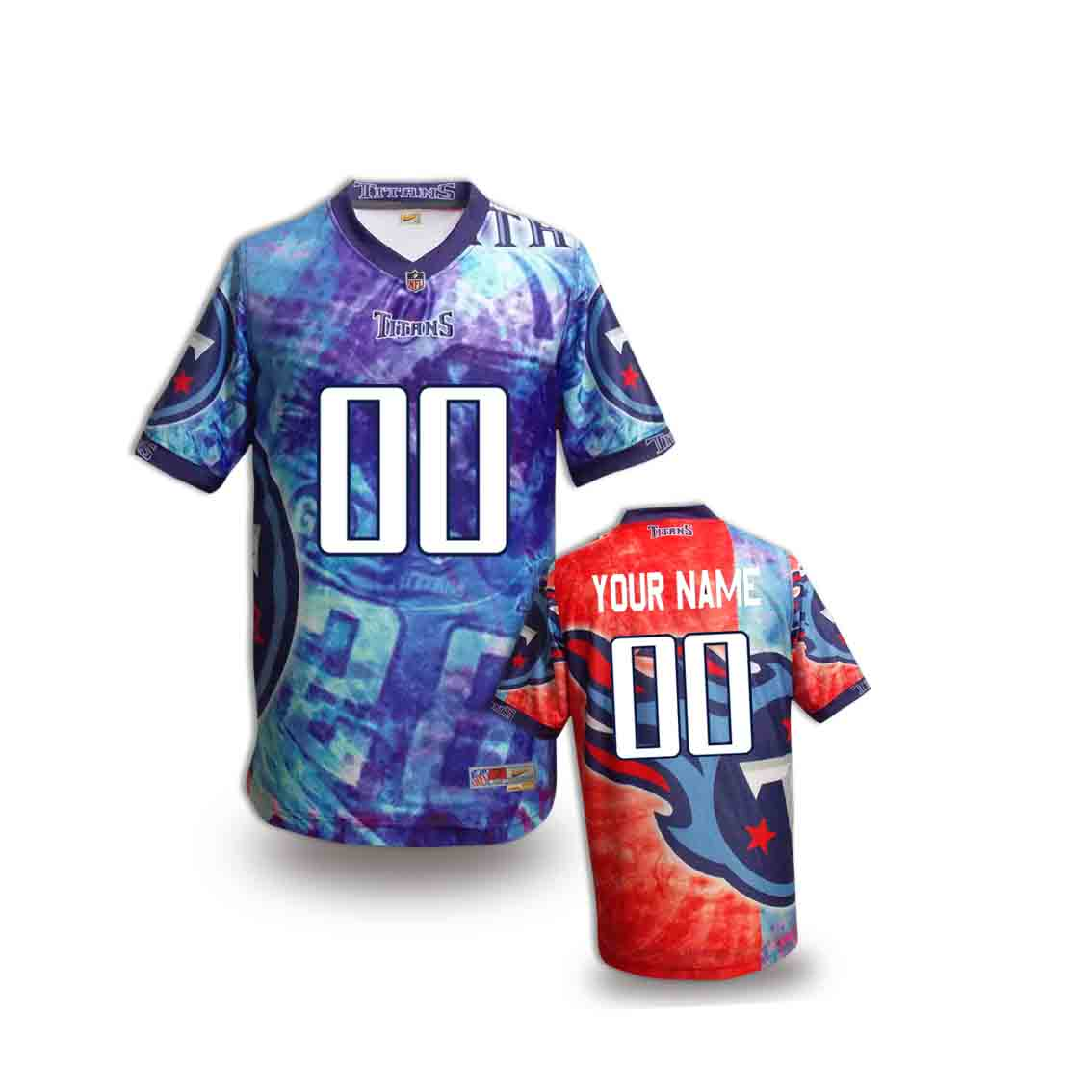 Nike Titans Customized Fashion Stitched Youth Jerseys05