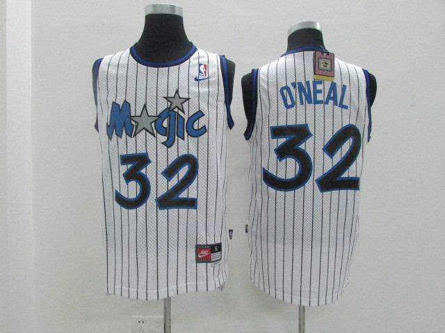 Magic 32 O'Neal White Revolution 30 Jerseys