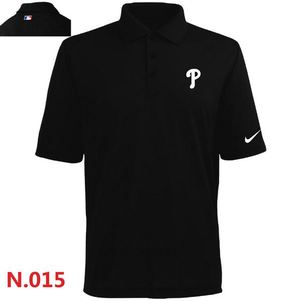 Nike Phillies Black Polo Shirt