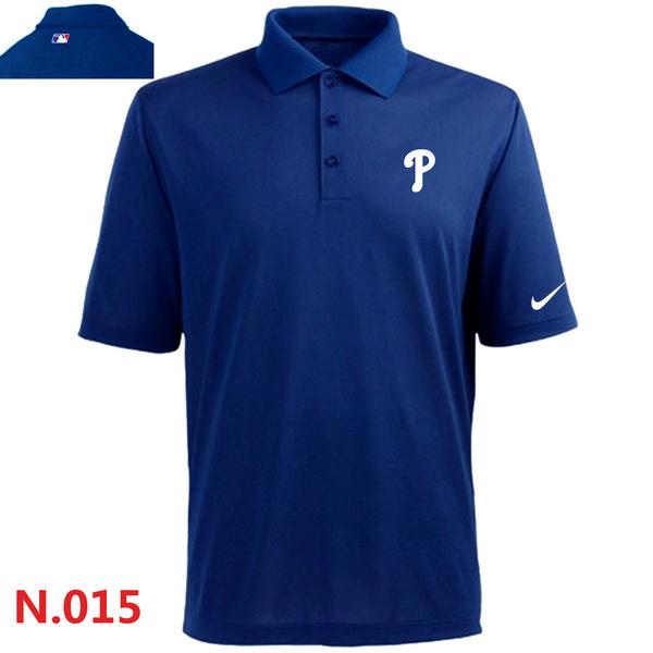 Nike Phillies Blue Polo Shirt