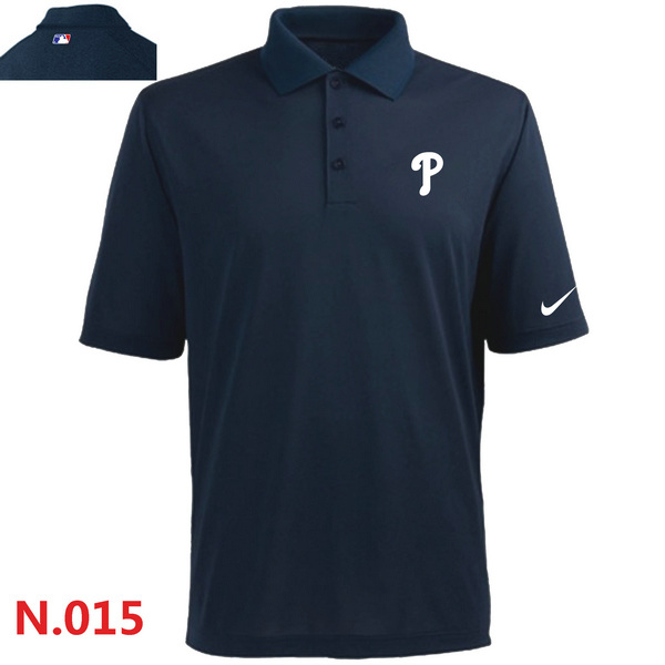 Nike Phillies Navy Blue Polo Shirt