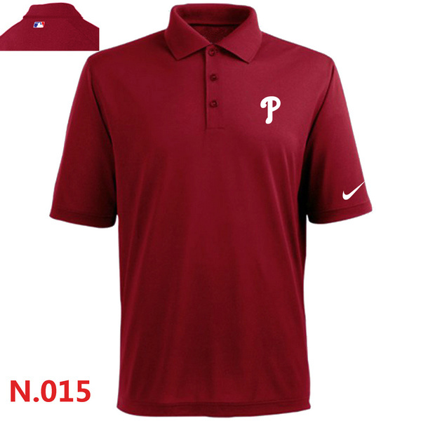 Nike Phillies Red Polo Shirt