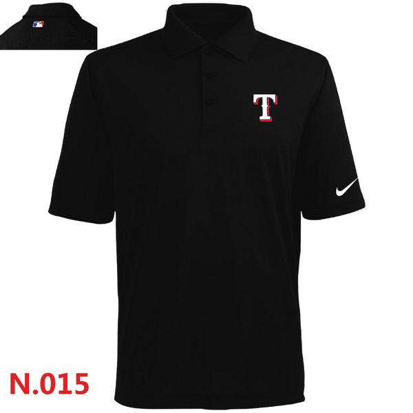 Nike Rangers Black Polo Shirt