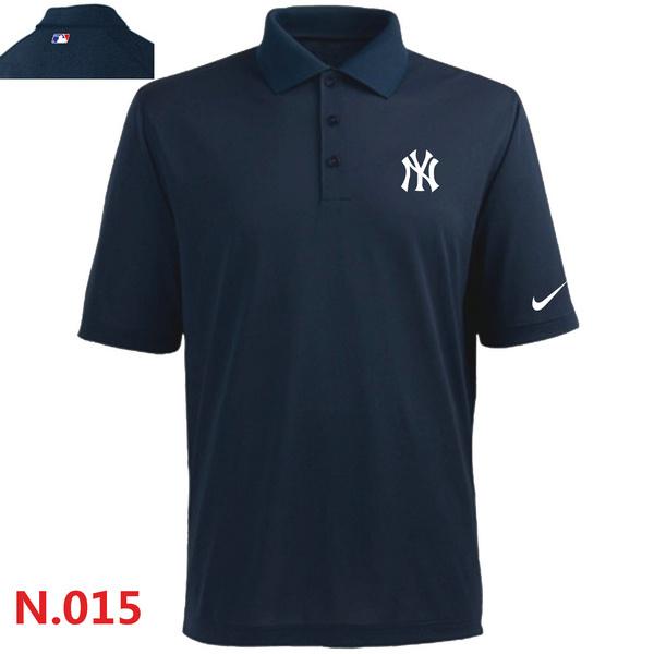 Nike Yankees Navy Blue Polo Shirt