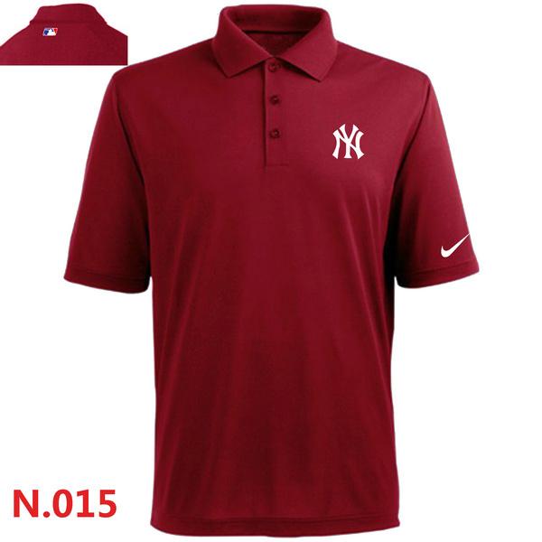 Nike Yankees Red Polo Shirt