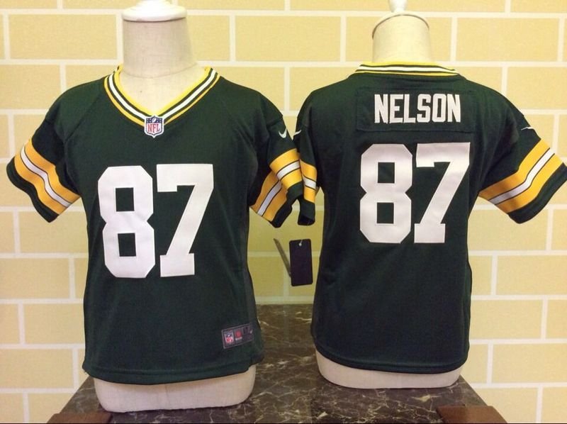 Nike Packers 87 Jordy Nelson Green Toddler Game Jersey