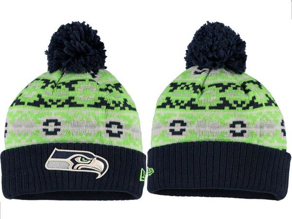 Seahawks Green Fashion Knit Hat XDF