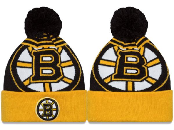 Bruins Team Logo Fashion Knit Hat XDF