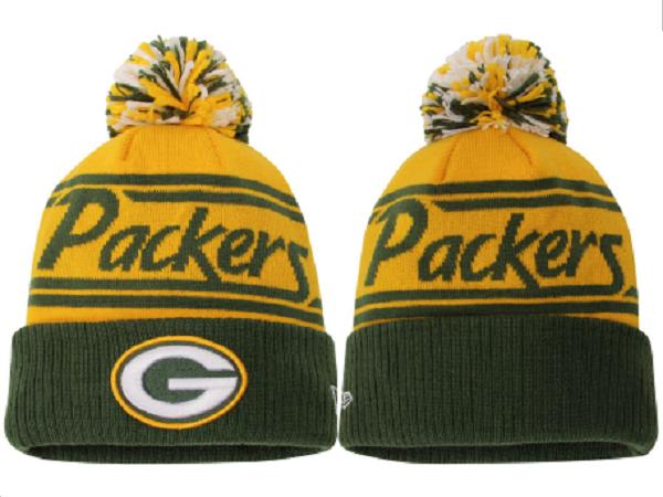 Packers Team Logo Fashion Knit Hat XDF
