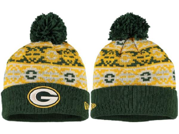 Packers Team Logo Fashion Knit Hat XDF2