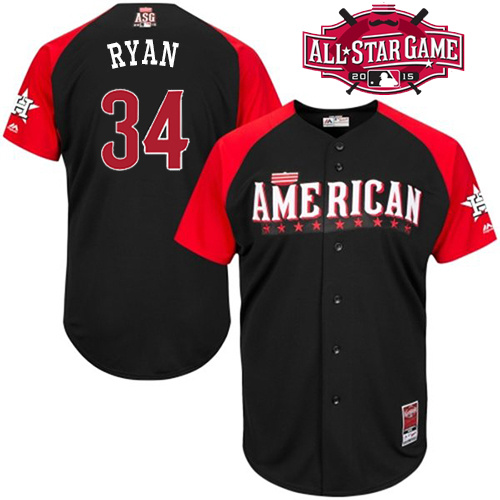 American League Astros 34 Ryan Black 2015 All Star Jersey
