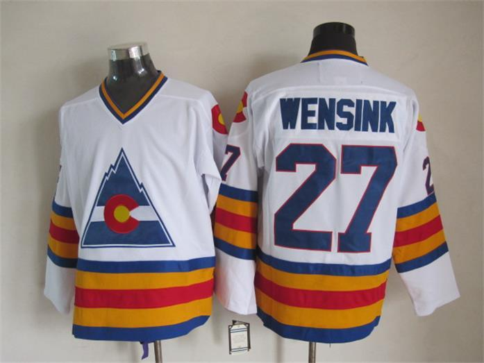 Avalanche 27 Wensink White CCM Jersey