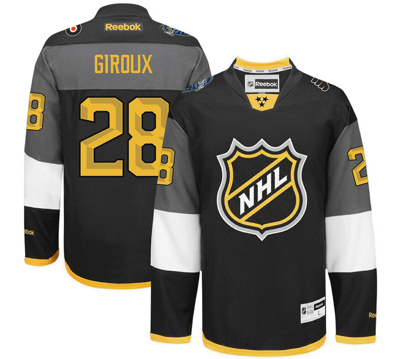 Flyers 28 Claude Giroux Black 2016 All-Star Premier Jersey