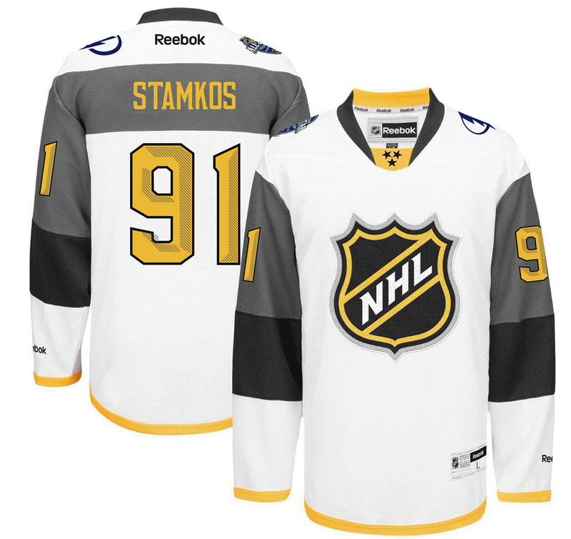 Lightning 91 Steven Stamkos White 2016 All-Star Premier Jersey