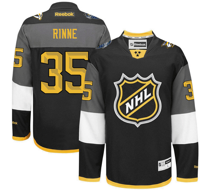 Predators 35 Pekka Rinne Black 2016 All-Star Premier Jersey