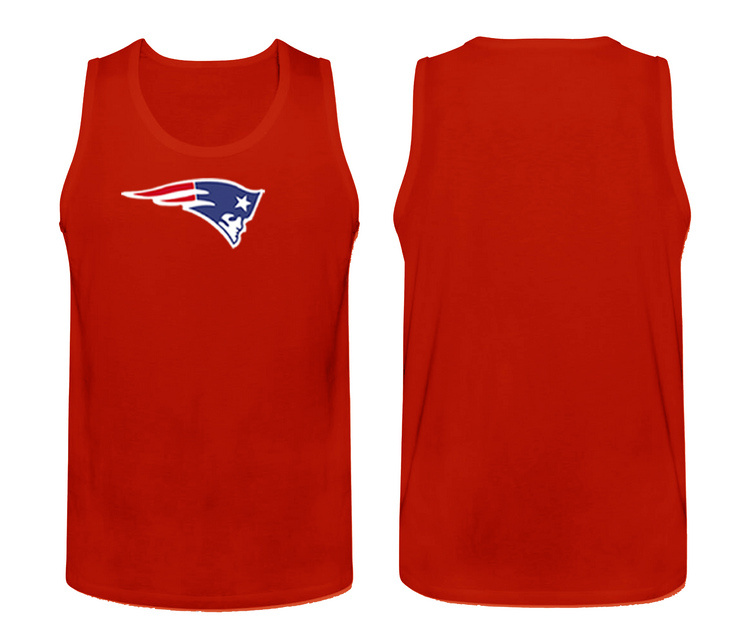 Nike New England Patriots Fresh Logo Men's Tank Top Red
