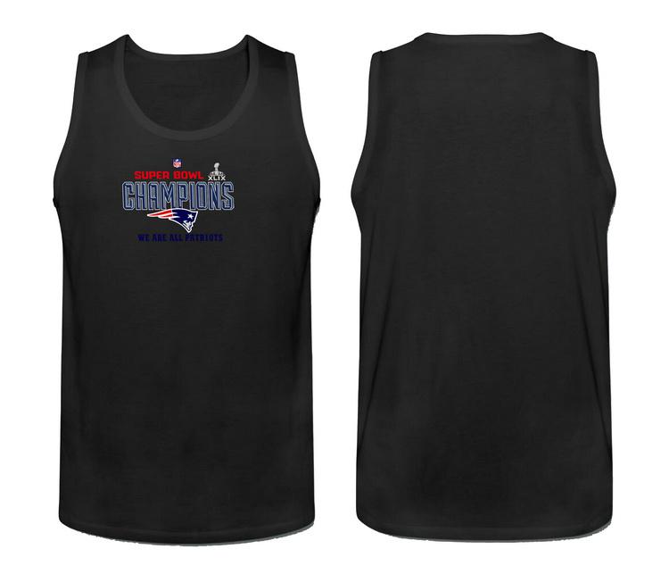 Nike New England Patriots Super Bowl Champions Men's Tank Top Black