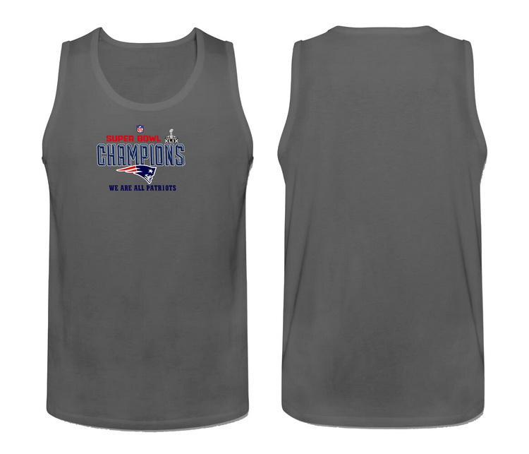 Nike New England Patriots Super Bowl Champions Men's Tank Top Grey