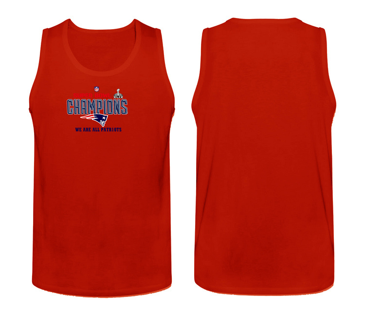 Nike New England Patriots Super Bowl Champions Men's Tank Top Red