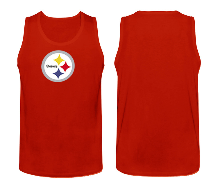 Nike Pittsburgh Steelers Fresh Logo Men's Tank Top Red