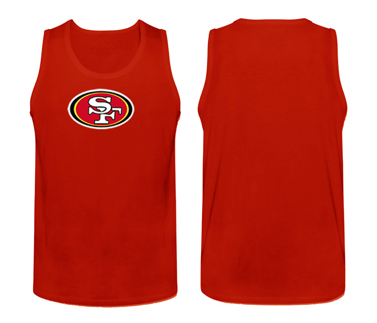 Nike San Francisco 49ers Fresh Logo Men's Tank Top Red