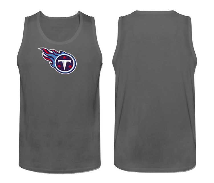 Nike Tennessee Titans Fresh Logo Men's Tank Top Grey