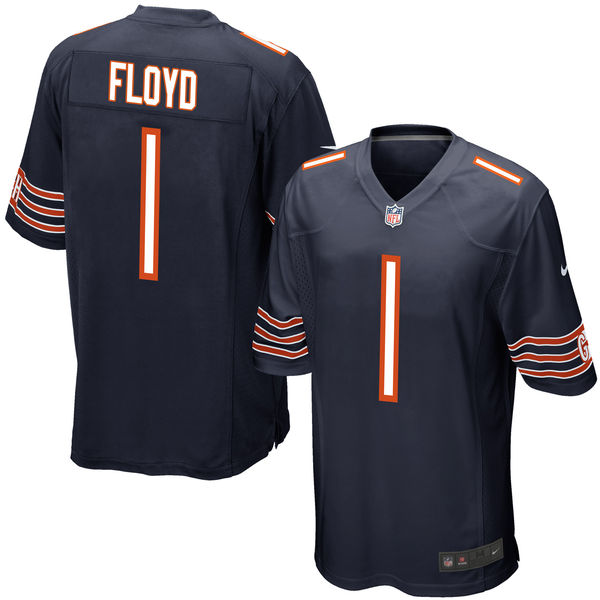 Nike Bears 1 Leonard Floyd Navy 2016 Draft Pick Elite Jersey