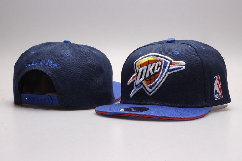 Thunder Navy Mitchell & Ness Adjustable Hat YP