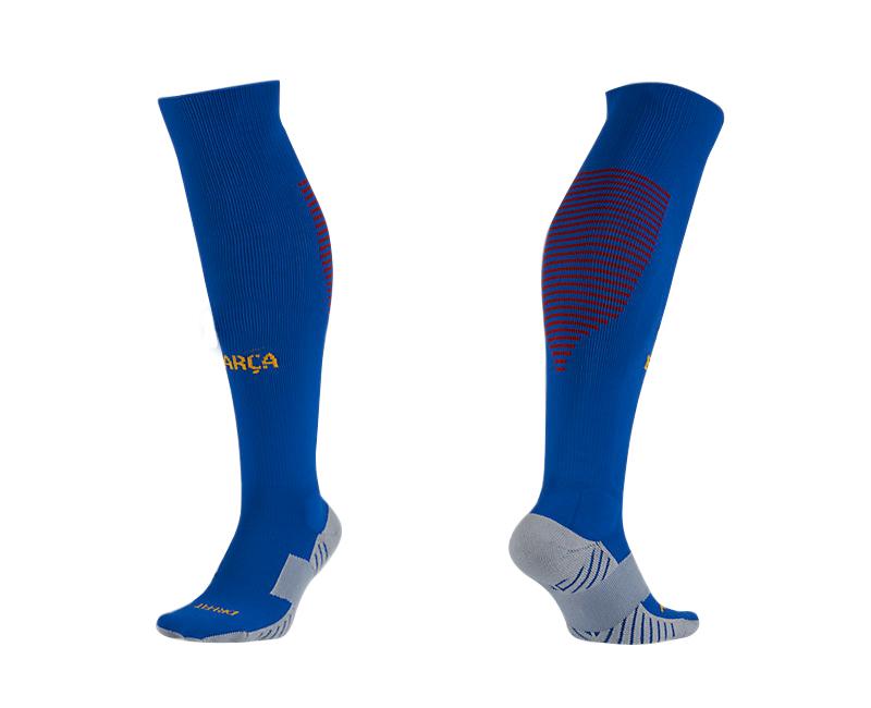 2016-17 Barcelona Home Youth Soccer Socks