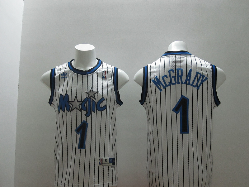 Magic 1 McGrady White Swingman Jerseys