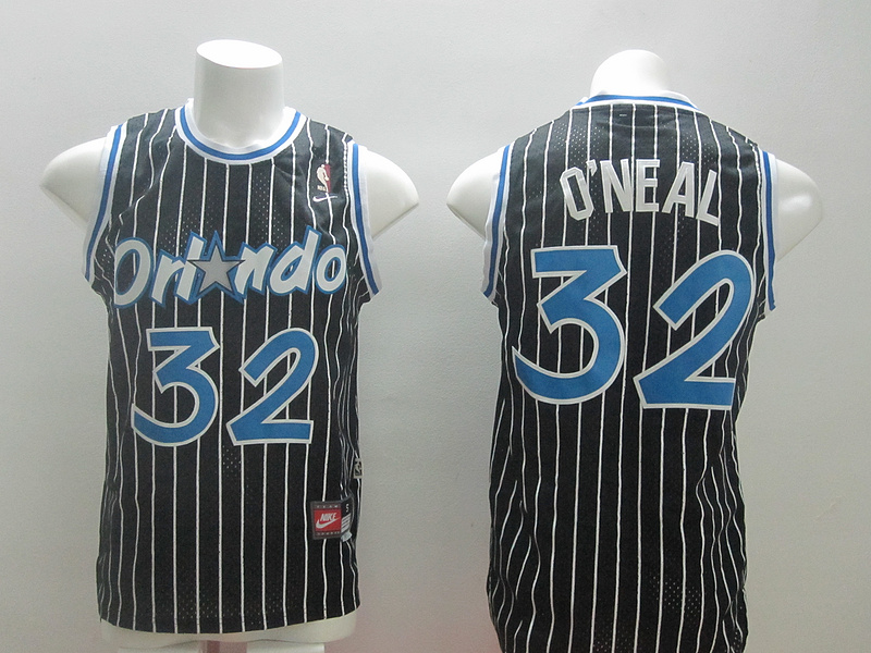 Magic 32 O'Neal Black New Revolution 30 Jerseys