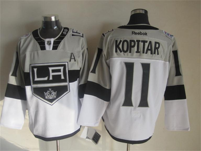 Kings 11 Kopitar Grey 2015 Stadium Series Jerseys
