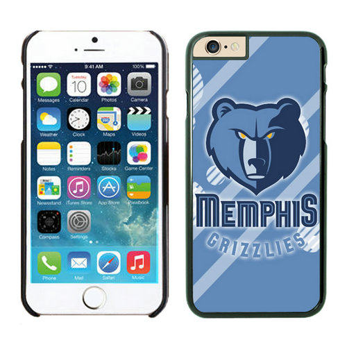 Memphis Grizzlies iPhone 6 Cases Black09