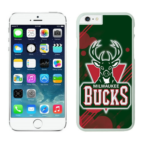 Milwaukee Bucks iPhone 6 Cases White04