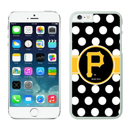 Pittsburgh Pirates iPhone 6 Cases White03