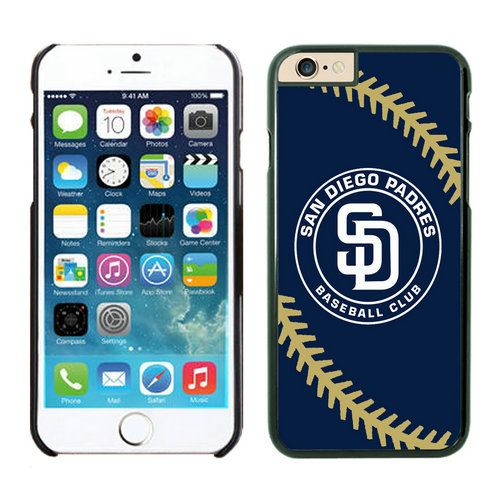 San Diego Padres iPhone 6 Cases Black04