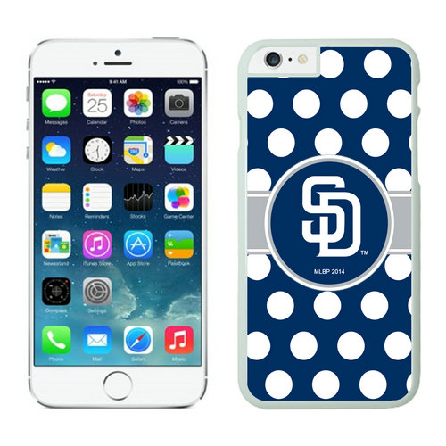 San Diego Padres iPhone 6 Cases White03