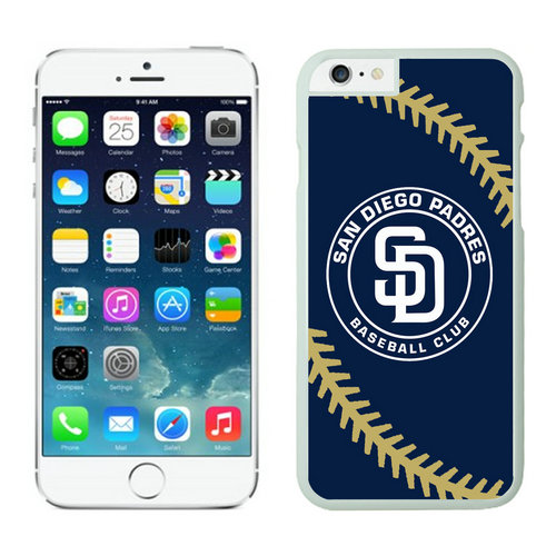 San Diego Padres iPhone 6 Cases White04