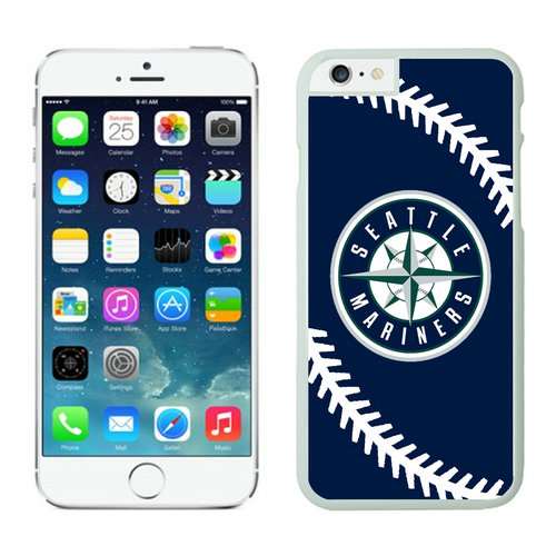Seattle Mariners iPhone 6 Cases White02
