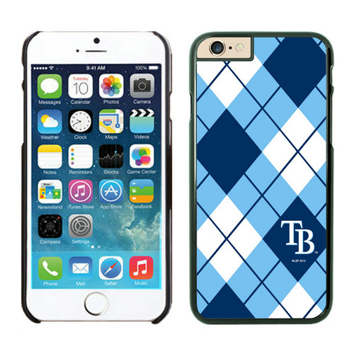 Tampa Bay Rays iPhone 6 Cases Black