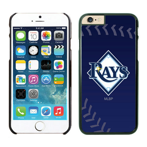 Tampa Bay Rays iPhone 6 Cases Black02