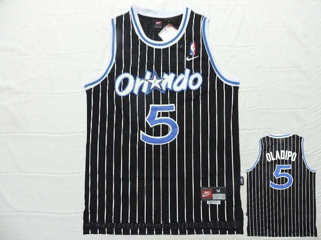Magic 5 Oladipo Black New Revolution 30 Jersey