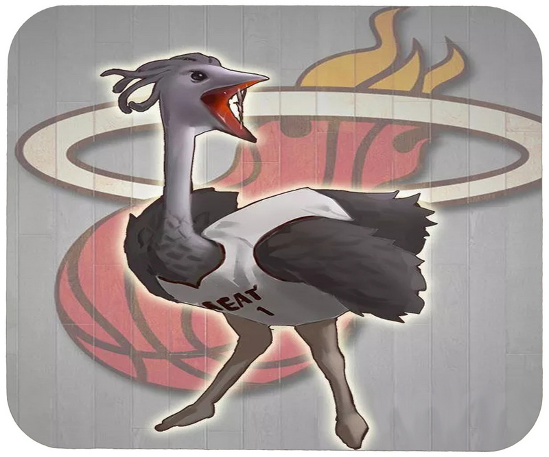 Heat Cartoon Logo Gaming/Office Mouse Pad