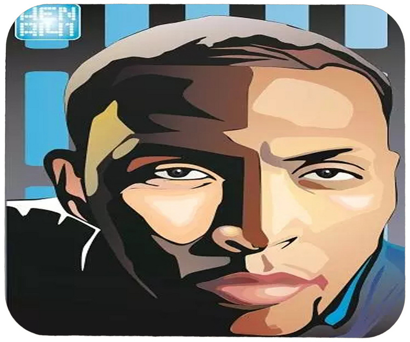Mavericks Shawn Marion Cartoon Logo Gaming/Office Mouse Pad