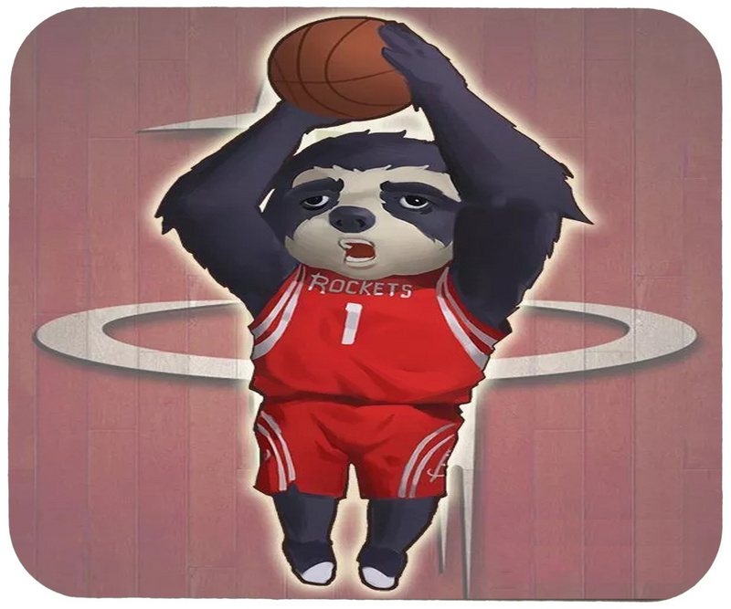 Rockets Cartoon Logo Gaming/Office Mouse Pad